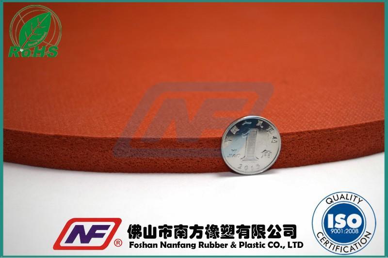 耐高温硅橡胶发泡垫产品缩略图