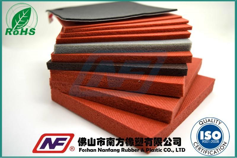 耐高温硅胶海绵垫产品缩略图